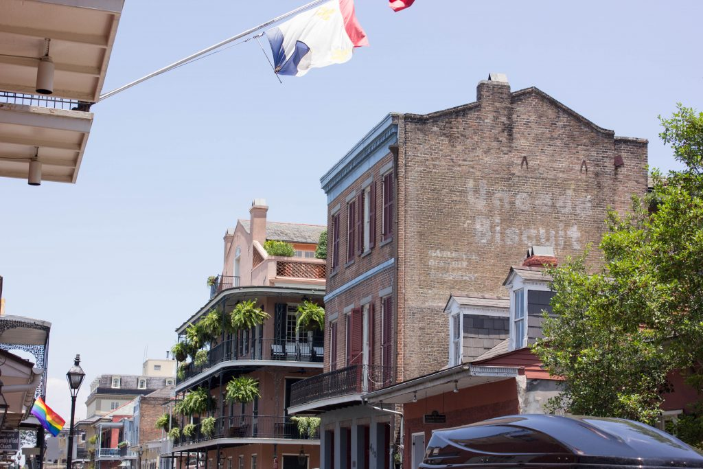 There's a lot of very cool old buildings in New Orleans.