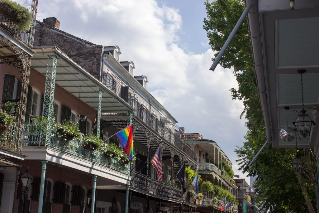 Though this is being posted a bit later, we went through a week after NOLA Pride, which still put it in Pride Month. Plus, it's New Orleans.